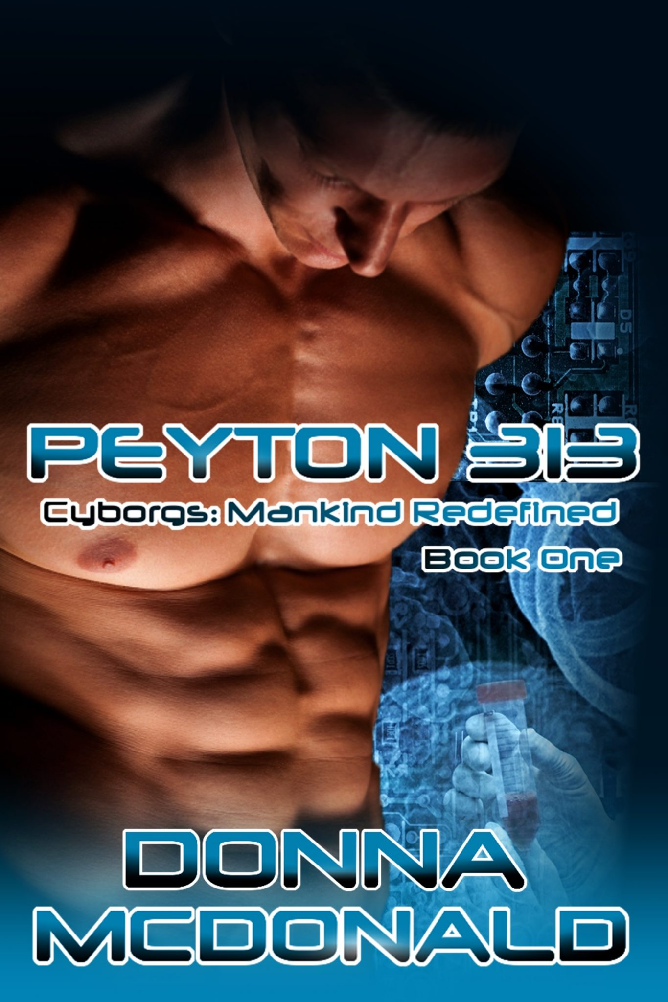 science fiction romance, cyborgs, genetic engineering, donna mcdonald