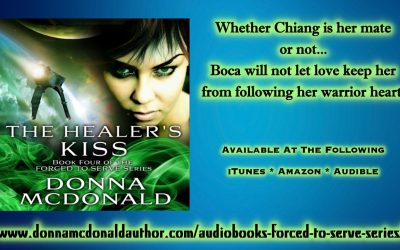 New Audiobook! The Healer's Kiss (FTS Book 4)