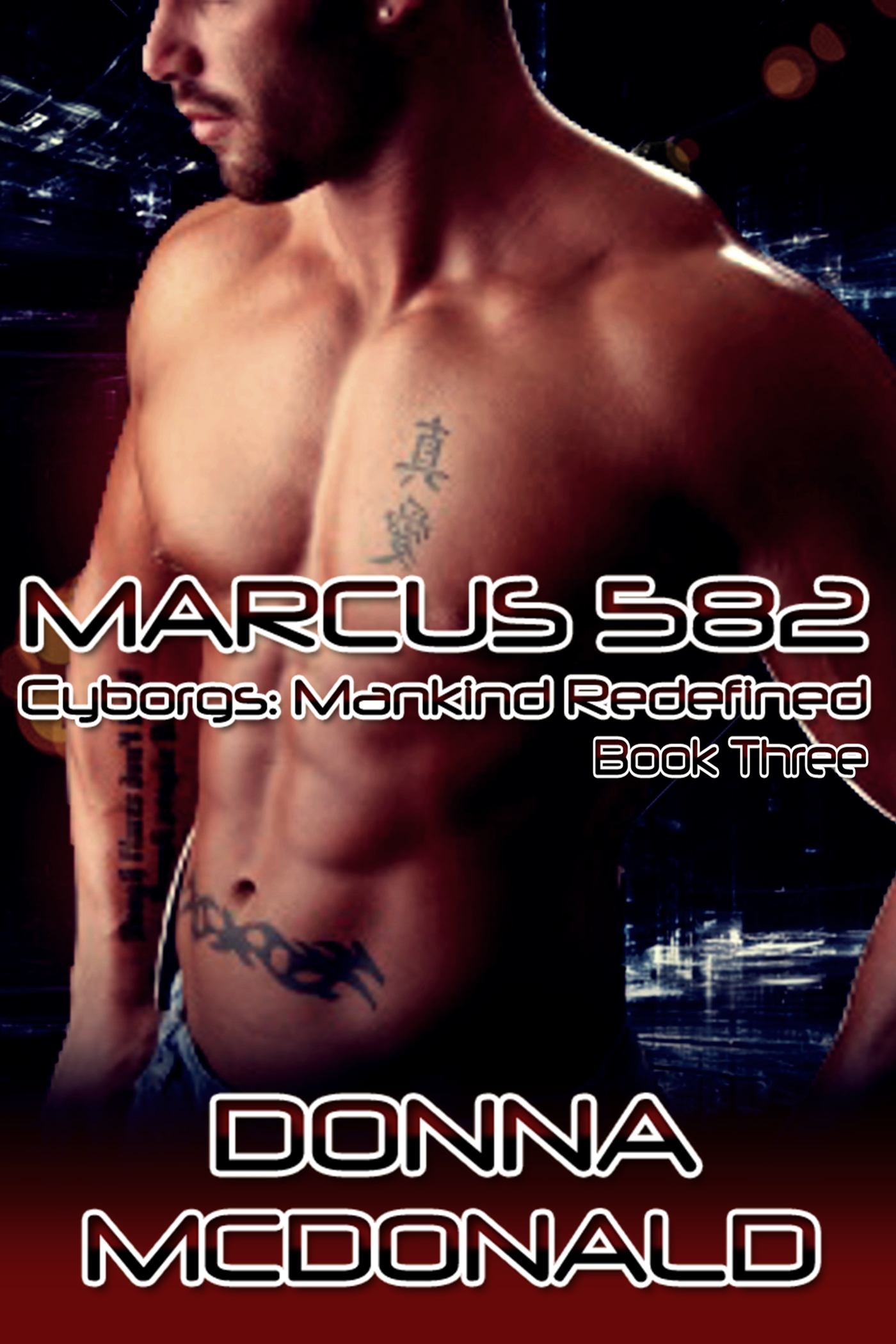 marcus, cyborgs, science fiction, paranormal, genetic engineering
