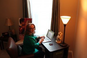 Donna Writing