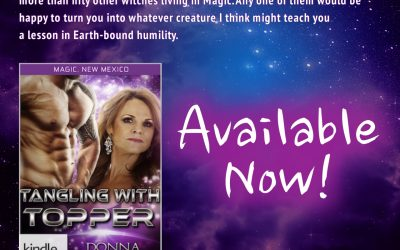 Magic, NM: Tangling With Topper (NEW Kindle World Novella)