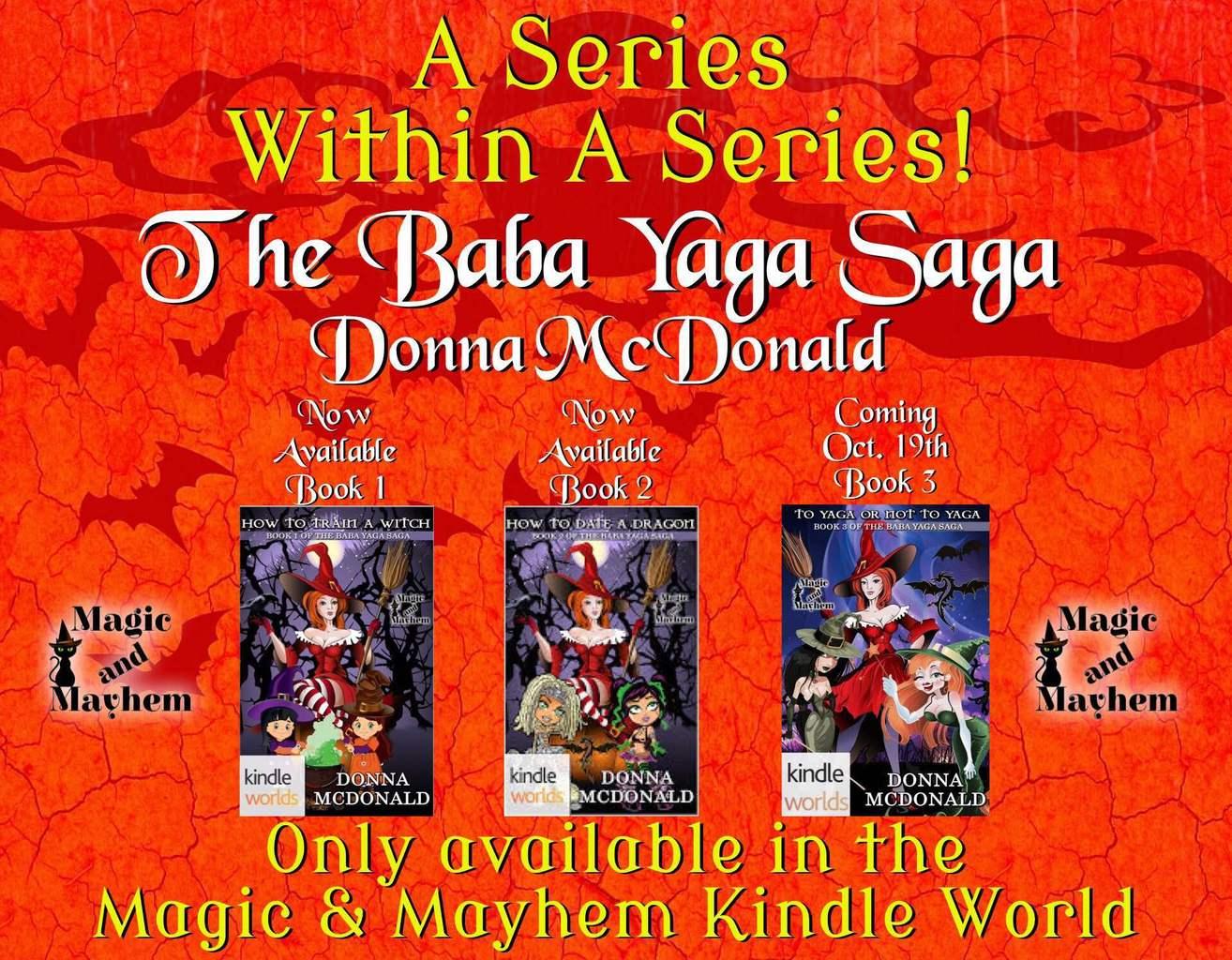 The Baba Yaga Saga All 3 Books