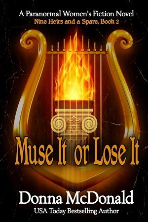 Muse It or Lose It Cover, Donna McDonald
