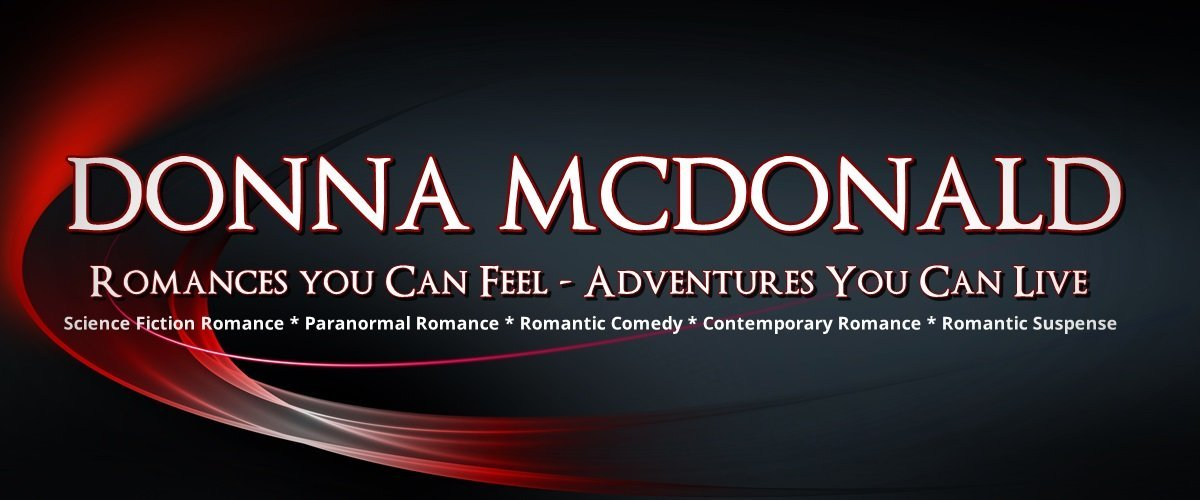 donna mcdonald, contemporary romance, science fiction, paranormal, romantic comedy