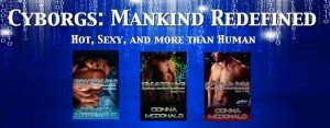 donna mcdonald, science fiction romance, cyborgs, genetic engineering