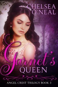 Garnet's Queen Book Cover by Chelsea O'Neal