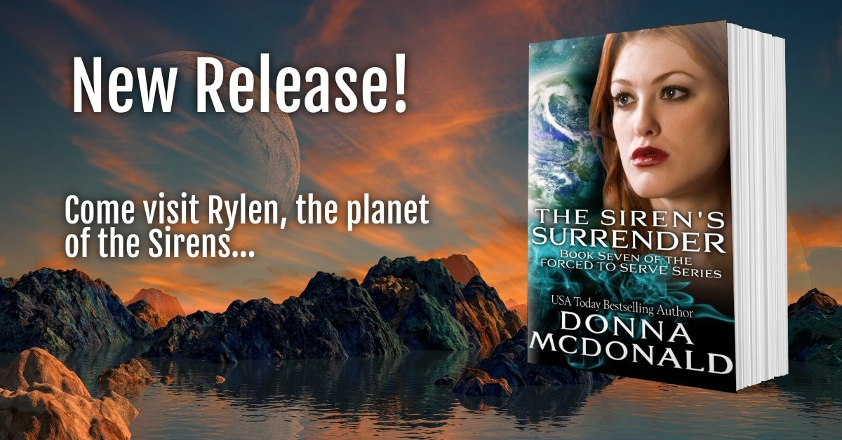 New Release Book Meme for The Siren's Surrender