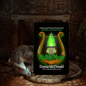 Midlife Muse, Book 1, Paranormal Women's Fiction.