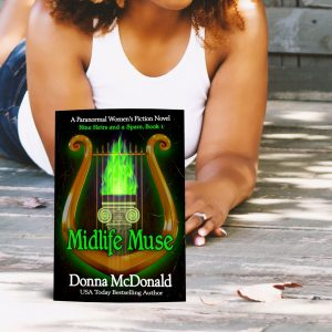 midlife muse meme, paranormal women's fiction, donna mcdonald