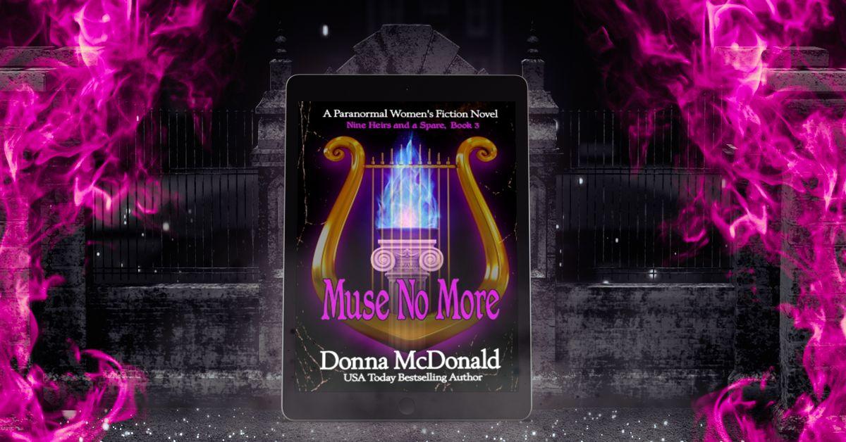 Muse No More Banner, Donna McDonald